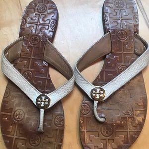 Tory Burch Thora Flat Thong Sandal 11